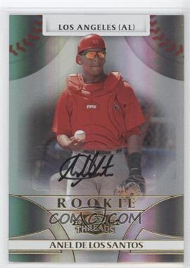 2008 Donruss Threads #124 - Rookie Autograph - Anel De Los Santos /999