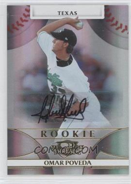 2008 Donruss Threads #148 - Rookie Autograph - Omar Poveda /999