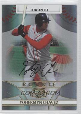 2008 Donruss Threads #149 - Rookie Autograph - Yohermyn Chavez /999