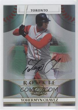 2008 Donruss Threads #149 - Rookie Autograph - Yohermyn Chavez /999