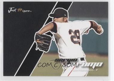 2008 Just Minors Just Autographs - [Base] - Black Edition #63 - Sergio Romo /50