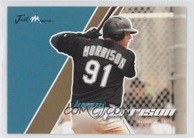 2008 Just Minors Just Autographs - [Base] - Gold Edition #51 - Logan Morrison /100