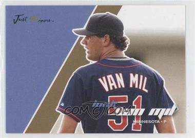 2008 Just Minors Just Autographs Gold Edition #78 - Loek Van Mil /100