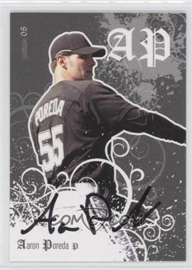 2008 Just Minors Justifiable Autographs [Autographed] #JF-40 - Aaron Poreda