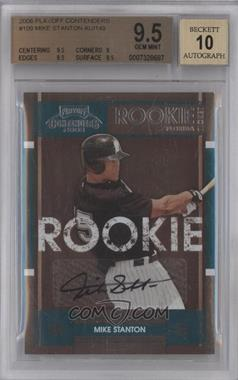 2008 Playoff Contenders - [Base] #109 - Mike Stanton [BGS 9.5]