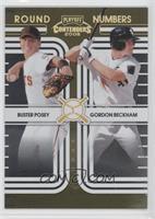 Buster Posey, Gordon Beckham /250