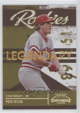 2008 Playoff Contenders [???] #2 - Pete Rose /250