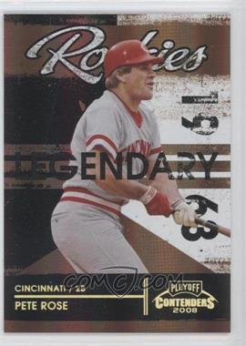 2008 Playoff Contenders [???] #2 - Pete Rose /100