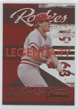 2008 Playoff Contenders [???] #2 - Pete Rose /1500