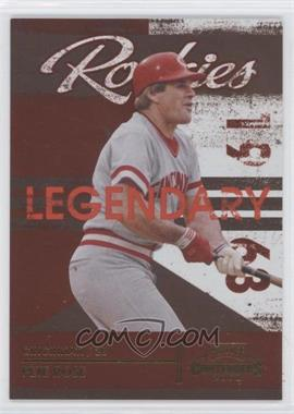 2008 Playoff Contenders Legendary Rookies #2 - Pete Rose /1500