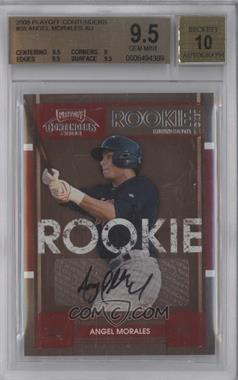 2008 Playoff Contenders #56 - Angel Morales [BGS 9.5]