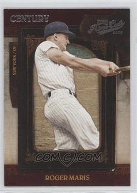 2008 Playoff Prime Cuts - [Base] - Century Silver #81 - Roger Maris /25