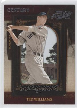 2008 Playoff Prime Cuts - [Base] - Century Silver #88 - Ted Williams /25