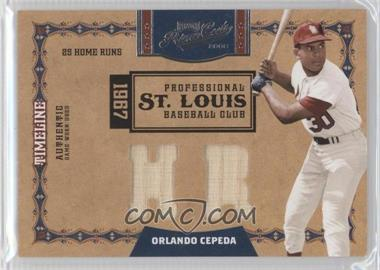 2008 Playoff Prime Cuts [???] #9 - Orlando Cepeda