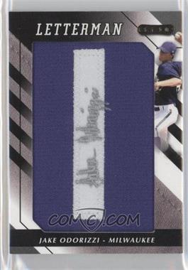 2008 Razor Letterman - [Base] #JO-I2 - Jake Odorizzi