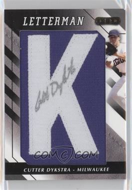 2008 Razor Letterman [???] #K - Cutter Dykstra