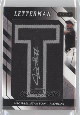 2008 Razor Letterman [???] #MS-T2 - Mike Stanton /5