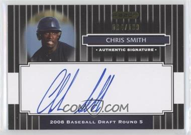 2008 Razor Signature Series - [Base] - Black #150 - Chris Smith /199