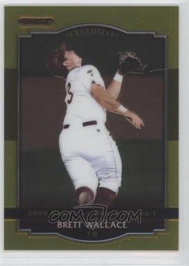 2008 Razor Signature Series [???] Gold #BA-BW - Brett Wallace