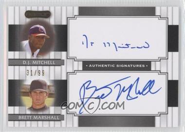 2008 Razor Signature Series [???] #DS-13 - Brian Matusz, Brandon MaGee, D.J. Mitchell /99
