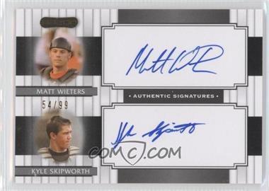 2008 Razor Signature Series [???] #DS-2 - Matt Wise, Kyle Skipworth