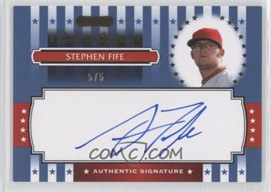 2008 Razor Signature Series [???] #ES-22 - Stephen Fife