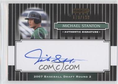 2008 Razor Signature Series Black #197 - Michael Stanton /199