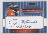 Jemile Weeks /25