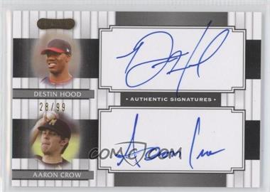 2008 Razor Signature Series Dual Signatures #DS-10 - [Missing] /99