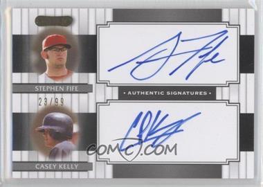 2008 Razor Signature Series Dual Signatures #DS-11 - [Missing] /99