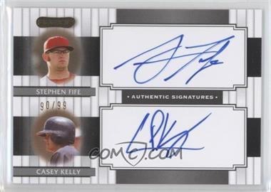 2008 Razor Signature Series Dual Signatures #DS-11 - Stephen Fife, Casey Kelley /99