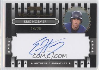 2008 Razor Signature Series Exclusive Signatures Black #ES-3 - Eric Hosmer /25