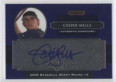 2008 Razor Signature Series Metal Autographs Blue #AU-CW - Casper Wells
