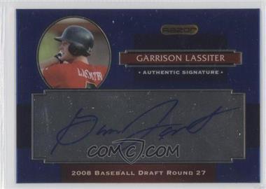 2008 Razor Signature Series Metal Autographs Blue #AU-GL - Garrison Lassiter