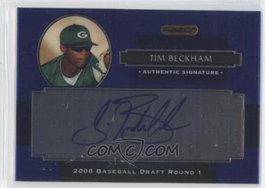 2008 Razor Signature Series Metal Autographs Blue #AU-TB - Tim Beckham