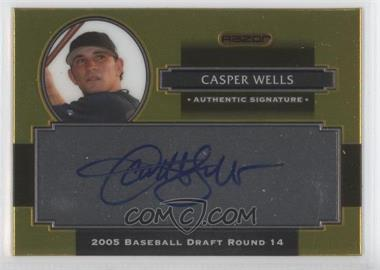 2008 Razor Signature Series Metal Autographs Gold #AU-CW - Casper Wells