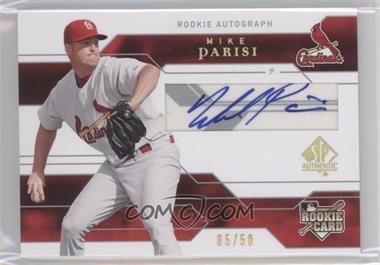 2008 SP Authentic - [Base] - Gold #149 - Mike Parisi /50