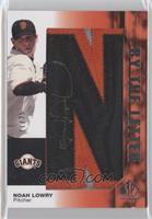 Noah Lowry (Spells: San Francisco Giants) /25