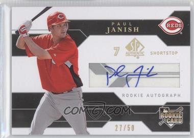 2008 SP Authentic Gold #178 - Paul Janish /50