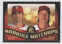 Chase Utley, Randy Johnson