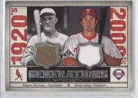 Rogers Hornsby, Chase Utley