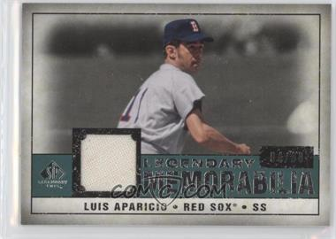 2008 SP Legendary Cuts Legendary Memorabilia Green #LM-LA - Luis Aparicio /99