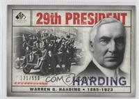 Warren G. Harding /550