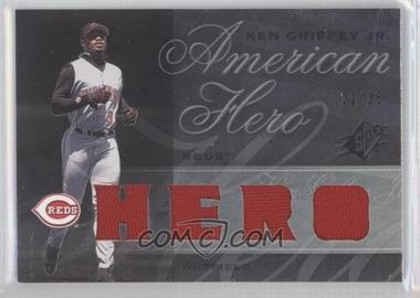 2008 SPx - Ken Griffey Jr. American Hero - Swatch [Memorabilia] #KG68 - Ken Griffey Jr. /25