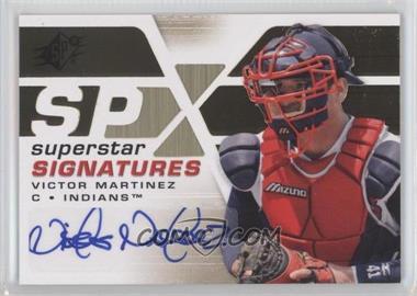 2008 SPx - Superstar Signatures - Gold #SSS-VM - Victor Martinez