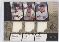 Tim Lincecum, Matt Cain, Noah Lowry /75