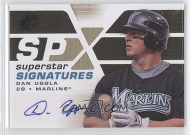 2008 SPx Superstar Signatures Gold #SSS-DU - Dan Uggla