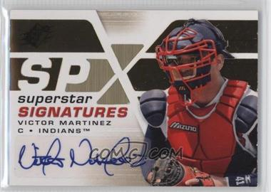 2008 SPx Superstar Signatures Gold #SSS-VM - Victor Martinez