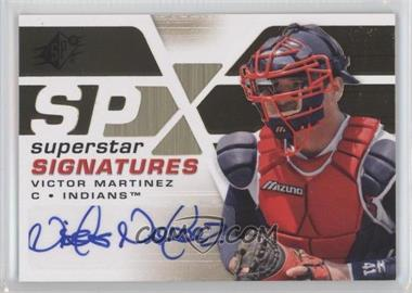 2008 SPx Superstar Signatures Gold #SSS-VM - Victor Martinez
