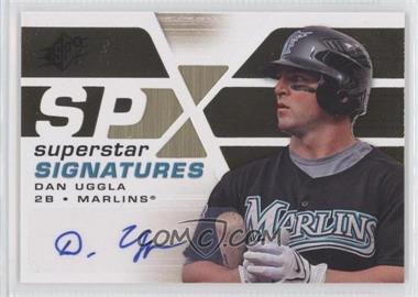 2008 SPx Superstar Signatures #SSS-DU - Dan Uggla